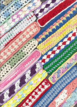 Crocheted bookmarks - layout # 2