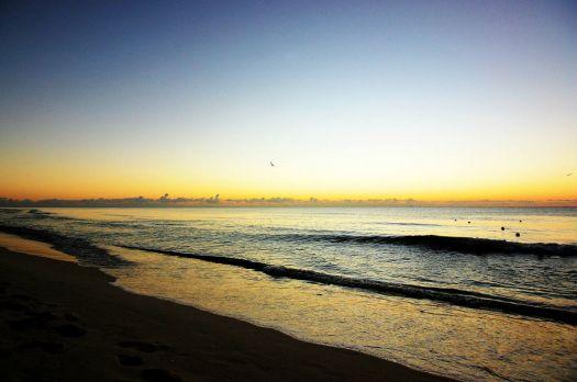Before the Sunrise - Playa del Carmen - hard light