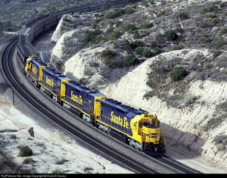 72-California, Cajon Pass-Atchinson, Topeka And Santa Fe