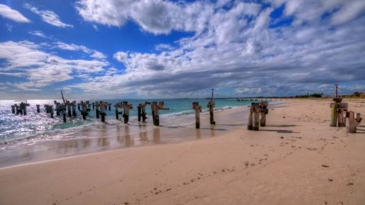 Jurien old pier