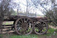 Old farm cart.
