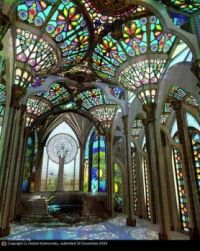 Gothic conservatory by Adale