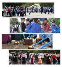 Tulip Festival Parade, Street Cleaning