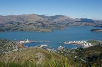 Lyttelton Harbour, Banks Peninsula, NZ
