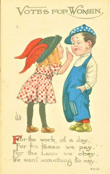 Themes Vintage illustrations/pictures - Votes for Women Poster