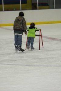 Grandkids skating