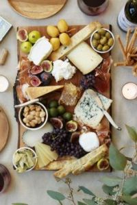 yummy cheese plate