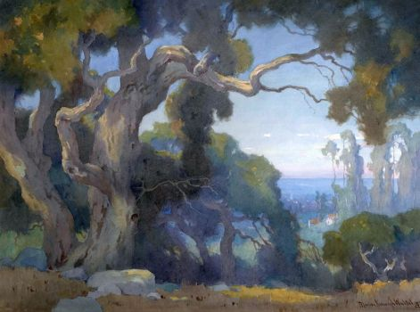 Marion Kavanaugh Wachtel (American painter) 1875 - 1954 The Distant Sea