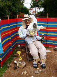 Muston Scarecrow Festival 'Gerroff Me Chips!'
