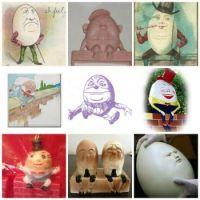 Humpty Dumpties ~ multiple image #3