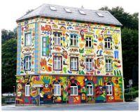 Graffiti House in Sebnitz Germany