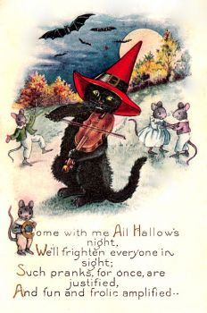Come with me on All Hallows Night
