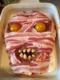 Zombie meatloaf