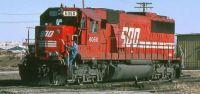 Soo Line SD60 #6050 at Bensenville Illinois