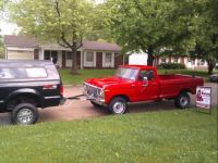 Phil's Big red truck