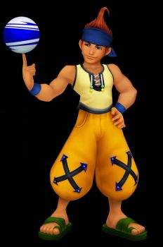 Kingdom Hearts: Wakka