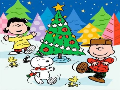 A Charlie Brown Christmas puzzle with friends...found on Internet