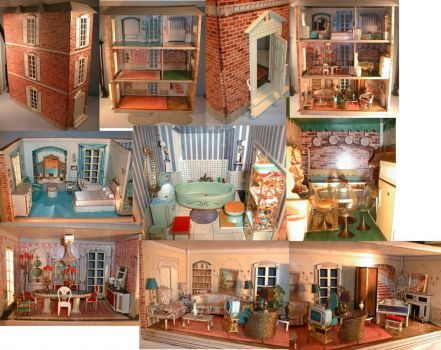 Doll House Rooms