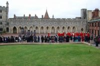 Windsor Castle changing of the guard