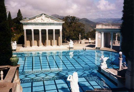Hearst Castle outdoor pool