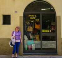 I found my own shop in Lucca