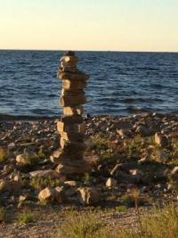 Rock Cairn, Door County