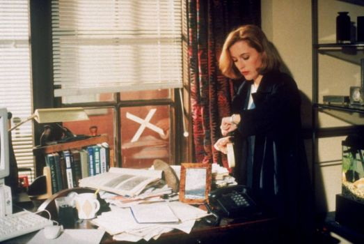 The X-Files: Gillian Anderson as Agent Dana Scully