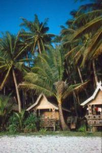 Our beach hut at Boracay Island, The Philippines
