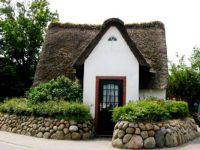 Thatched-Roof House in the Old Village of Kampen