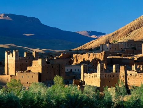 Kasbah ruins, Atlas Mtns, Morocco for the patient ones
