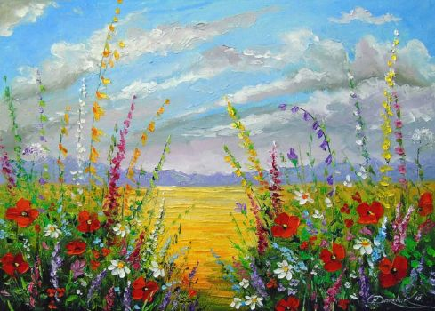 Darchuk: Summer Flowers in the Field