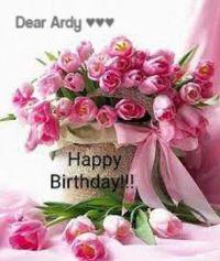 Happy Birthday dear Ardy ♥♥♥