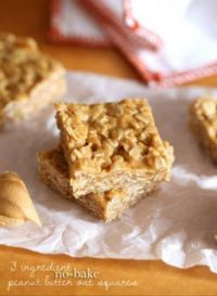 3 ingredient  squares