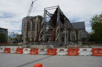 Christchurch Cathedral - awaiting it's fate!