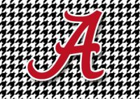 The Alabama Crimson Tide!