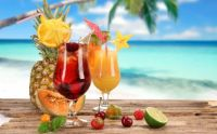 fruity tropical cocktails