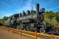 Death Valley Dinah steam engine #2 DVRR