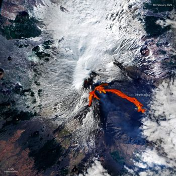 """Mount Etna erupts"""