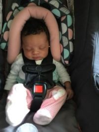 Brand new granddaughter! Cute as a button... all six pounds of her.