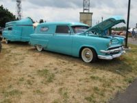 1954 Ford And Trailer  1