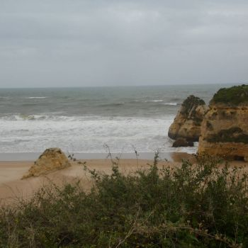 Cloudy day in Portugal.