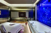 Underwater suites, Intercontinental Shanghai Wonderland, China