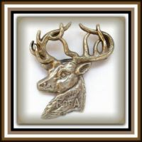 Theme - Farm and Forest Animals - Deer Brooches