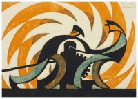 Winch ~ Sybil Andrews (British Colombia)