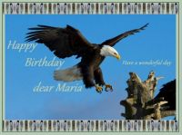 Happy Birthday dear Maria (Eaglefeather)