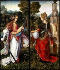 St. Catherine & St. Barbara