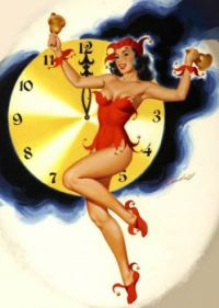 Happy New Year Pinup