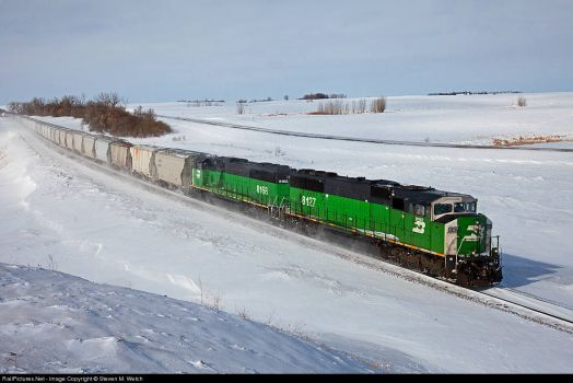 188-North Dakota, Berthold-BNSF