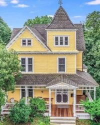 Yellow Victorian House in NJ