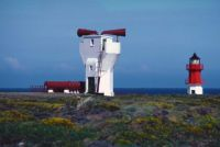 Point of Ayre Foghorn and Lighthouse IOM c1985